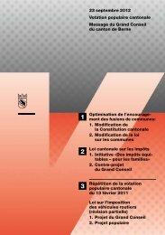 Message avec toutes les informations (PDF) - PS du canton de Berne