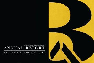 ANNUAL REPORT - Broken Arrow Public Schools
