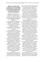 directiva 96/82/ce del consejo de 9 de diciembre de 1996 relativa al ...