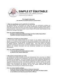 Téléchargez les arguments (PDF) - PS du canton de Berne