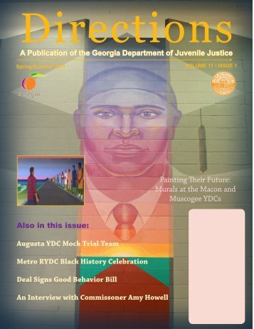Spring/Summer 2011 Newsletter - Georgia Department of Juvenile ...