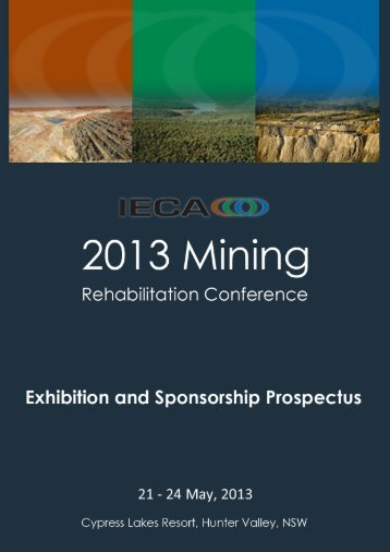 2013 IECA Exhibition and Sponsorship Prospectus - GEMS Event ...