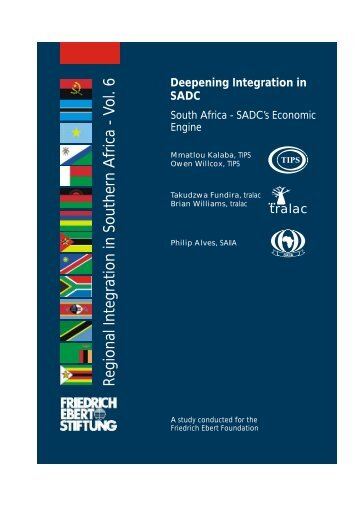 Regional Integration in Southern A frica - Vol. 6 - Fes-botswana.org