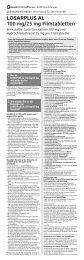 LOSARPLUS AL 100 mg/25 mg Filmtabletten - Aliud Pharma GmbH ...