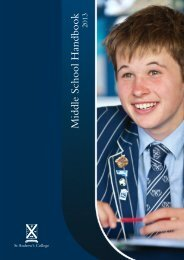 Middle School HB 2013 WEB - St Andrew's College