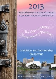 2013 AASE Exhibition and Sponsorship Prospectus - GEMS Event ...