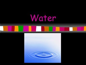 Water PowerPoint