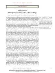 Aneurysmal Subarachnoid Hemorrhage - RWJ Medical Group