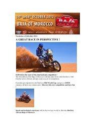 A GREAT RACE IN PERSPECTIVE ! - Motowinners