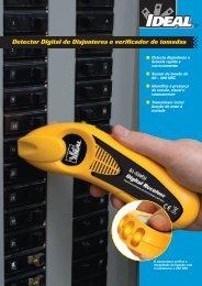 Detector Digital de Disjuntores e verificador de ... - Ideal Industries