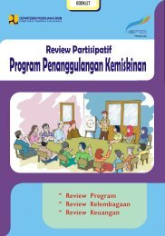 Booklet Review Partisipatif - P2KP