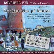 Flyer med ovenstående information - Odin Teatret