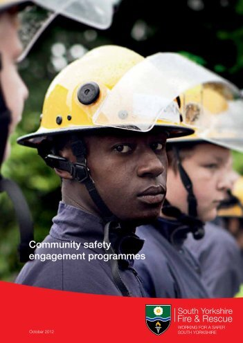 Community safety engagement programmes - South Yorkshire Fire ...
