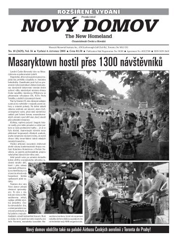 Masaryktown hostil přes 1300 návštěvníků - Nového Domova
