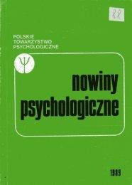 POLSKIE TOWARZYSTWO PSYCHOLOGICZNE - Pierre TAP