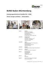 BUND Baden-Württemberg - Umweltbildung in der Offenen ...