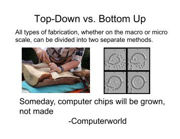Top-Down vs. Bottom Up - Fgamedia.org