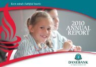 2010 ANNUAL REPORT - DANEBANK Anglican School For Girls