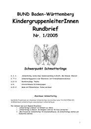 KindergruppenleiterInnen Rundbrief - Umweltbildung in der Offenen ...