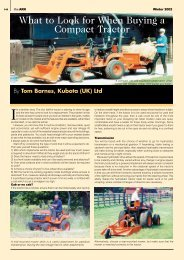 What to Look for When Buying a Compact Tractor