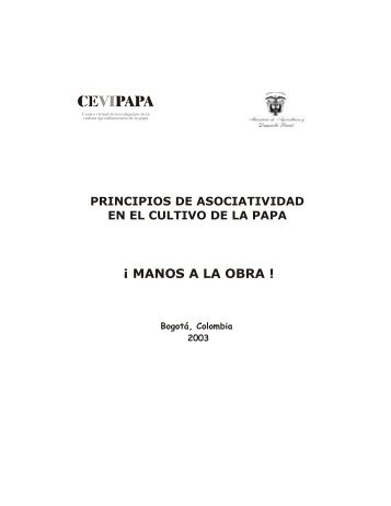 Principios de Asociatividad en el Cultivo de la Papa