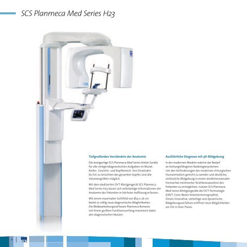 SCS Planmeca Med Series H23