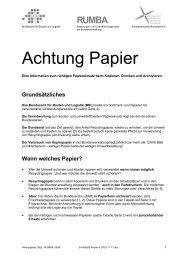 Achtung Papier - Umwelt und die ETH Zürich