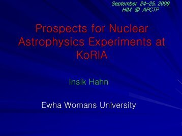 Prospects for Nuclear Astrophysics Experiments at KoRIA