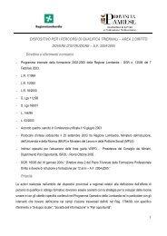 DISPOSITIVO PER I PERCORSI DI QUALIFICA ... - DIDAweb
