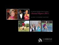 Download Our 2011 Annual Report - To Celebrate Life