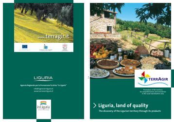 Liguria, land of quality - Turismo in Liguria