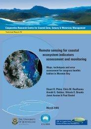 Remote sensing for coastal ecosystem indicators - OzCoasts