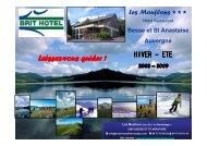 Les Mouflons-Auvergne Présentation été-hiver 2009 - Applications ...