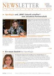 Newsletter Ausgabe 03/2010 - XperRegio