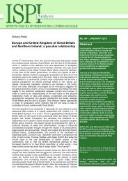 Abstract Europe and United Kingdom of Great Britain and ... - Ispi