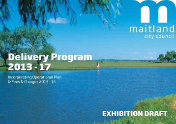 Delivery Program 2013 - 17 - Maitland City Council - NSW ...