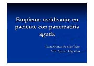 Empiema recidivante en pancreatitis aguda.pdf
