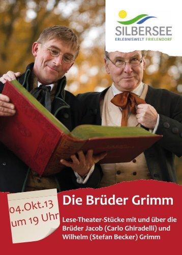 Die Brüder Grimm - Tourismus Frielendorf