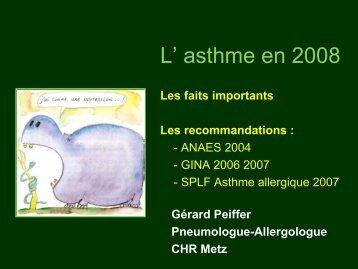 Asthme en 2008 - ammppu