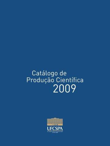 Catálogo de - Ufcspa