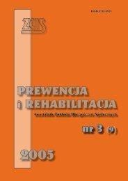 Prewencja i rehabilitacja nr 3/2005
