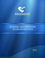 NURSING AND MIDWIFERY SCOPE OF PRACTICE - Federal ...