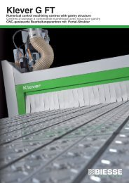 Klever G FT - Biesse Manufacturing Co. Pvt. Ltd