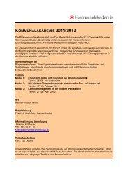 Beschreibung der Lehrgangsmodule (pdf) - Wiener Bildung