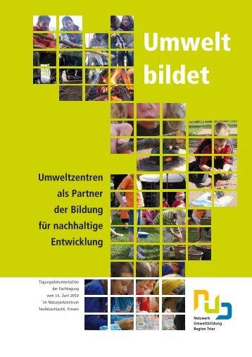 1584_Tagbrosch_onlineVers.pdf - Umweltbildung in der Region Trier