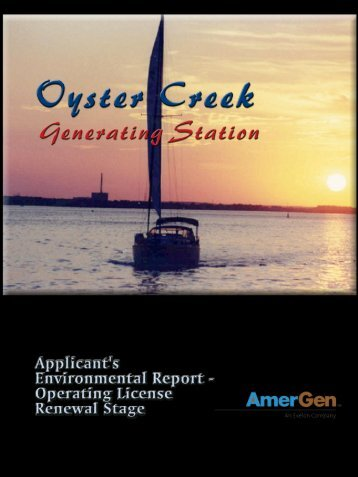 Oyster Creek Environmental Impact Statement Document - Roger ...