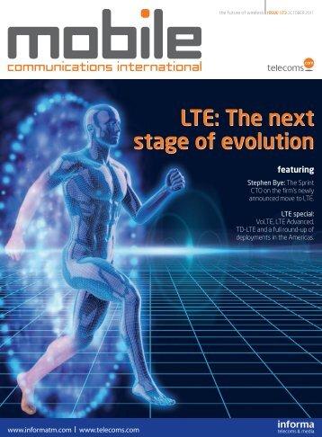 The next stage of evolution - Telecoms.com