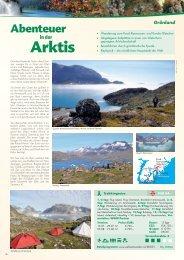 Arktis - Weltweitwandern