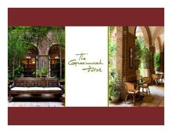 Brochure - The Greenwich Hotel