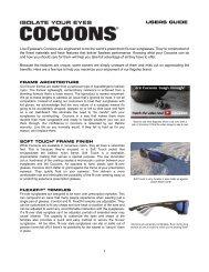USERS GUIDE - Cocoons Eyewear